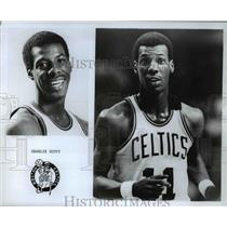 Press Photo Charlie Scott Boston Celtics