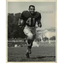 1957 Press Photo Nat Brazill University of California Football Player