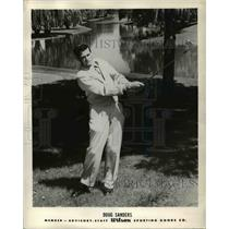 1965 Press Photo Doug Sanders, advisory staff of Wilson Sporting Goods Co