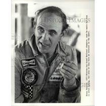 1973 Press Photo Winston Grand National champion, Benny Parsons - ors01615