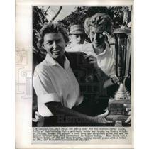 1964 Press Photo Betsy Rawls  and Mickey Wright