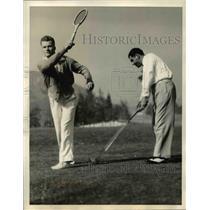 1935 Press Photo Gene Mako, National junior tennis champion