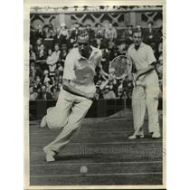 1935 Press Photo George Patrick Hughes to play in Davis Cup vs U.S.