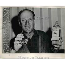 1966 Press Photo Argentine Golfer Roberto DeVicenzo at Dallas Open Tournament