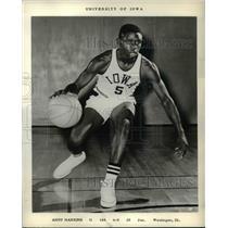1963 Press Photo University of Iowa Andy Hankins