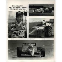 1988 Press Photo Danny Sullivan 1988 CART Indy Car Champion Miller High Life