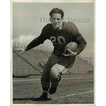 1942 Press Photo Pete Davis, Santa Clara Quarterback