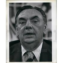 Press Photo Canadian Former Secretary State for External Affairs Donald Jamieson