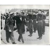 1955 Press Photo Thai Prime Minister Pibul Singgram Arrives Brussels Visit