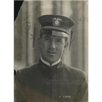 1918 Press Photo Dr John B Kaufman in military uniform