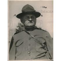 1924 Press Photo Brig.Gen Robert Wamkowski.