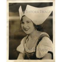1931 Press Photo Lillian Taiz as Freda Zorn in CBS opera
