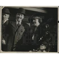 1919 Press Photo Ambassador Jas Gerard & wife Democrats
