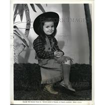 1942 Press Photo Carolyn Lee stars in Mrs. Wiggs of the Cabbage Patch - orp17731