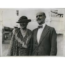 1934 Press Photo Mr.and Mrs.John Sheppard, a well know anti-prohibitionist