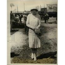 1923 Press Photo Mrs ETH Talmadge Jr at Far Hills NY