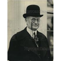 1922 Press Photo RB Craeger - nex52883