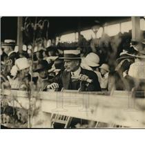 1922 Press Photo Dr Slavke Y Grouitch Amb of Serbs at Natl Capitol Horse Show