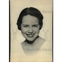 1933 Press Photo Virginia Haig Blues Singer Palace Hotel Orchestra - orp15870