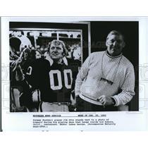 1993 Press Photo Football player Jim Otto