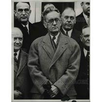1934 Press Photo Arthur H. Greenwood, Dem., Ind.