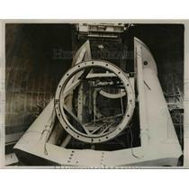 1940 Press Photo New Telescope Under Construction, Mount Palomas Observatory, CA