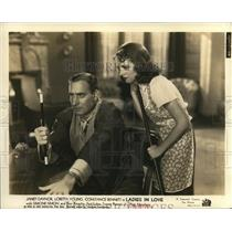 1936 Press Photo Janet Gaynor and Alan Mowbry star in Ladies in Love - orp20287