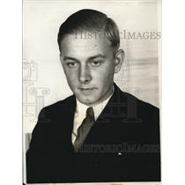 1931 Press Photo German Count Hans Hauboll Von Einsiedel to be Farmer in Saxony