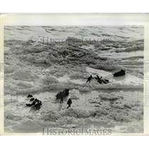 1969 Press Photo Members of the four-man British trans-Arctic expedition