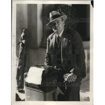 1929 Press Photo William Slavens McNutt, former short story writer