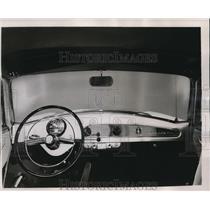 1953 Press Photo Instrument panel of new 1934 Nash Rambler