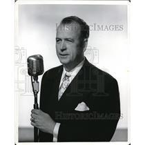 1960 Press Photo C.P. MacGregor Radio Program Producer