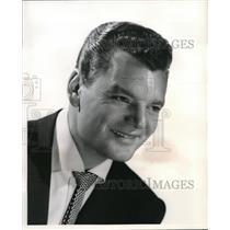 1956 Press Photo Bill Hamilton in Make mine Romance - orp19528