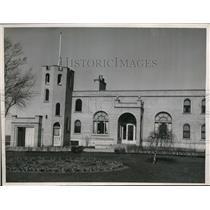 1937 Press Photo Lake Michigan home at Chiwaukee Beach for Joe Louis to train at