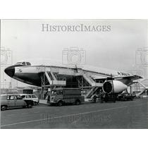 1971 Press Photo Building the Airbus A300D Model in Bourget