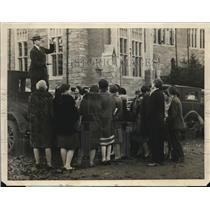 1928 Photo Wellesley College Mock Election Speech Emily Goohst Chicago