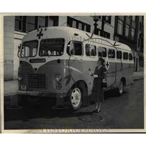 1948 Press Photo Mrs. Morton Bialosky Member of Motor Corps