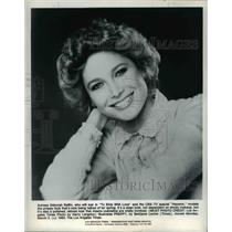 1980 Press Photo Deborah Raffin star of To Elvis with Love and Haywire CBS show