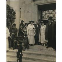 1918 Press Photo Bina West Women's Benefit Assoc, Mich Gov Sleeper