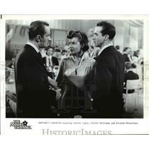 1949 Press Photo Xavier Cugat Esther Williams and Ricardo Montalban - orp22856