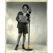 Press Photo Larry Robinson stars as Tommy Lewis in Woman of Courage Radio Show
