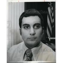1976 Press Photo Gerald J. Patronite Director Ohio Lottery Commission