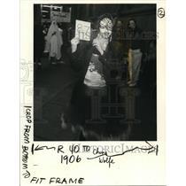1989 Press Photo Halloween Portland - ora37216