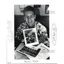 1993 Press Photo Dustin Dyer - ora20532