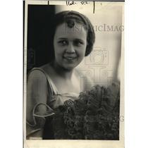1920 Press Photo Miss Margaret Pou, Daughter of Edward Pou, North Carolina