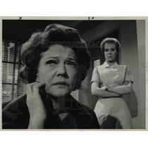 1964 Press Photo Sylvia Sidney Zina Bethune The Nurses
