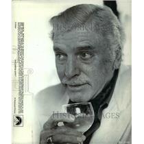 1980 Press Photo Burt Lancaster stars in Atlantic City