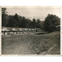 1930 Press Photo Camp Hamilton Wimber Pennsylvania