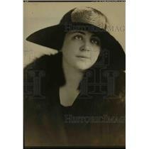 1923 Press Photo Mrs Harvey Starkweather Hostess for Statehood Dinner - orp26771
