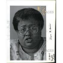 1995 Press Photo Joyce Harris - ora32471